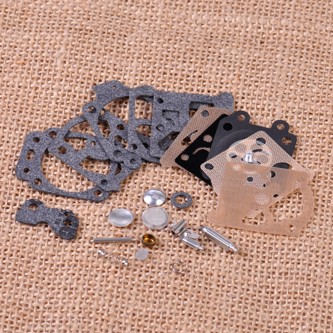 LETAOSK Carburetor Repair Kit Carb Gasket Rebuild Tool Gasket Set Diaphragm Fit For Walbro K20-WAT WA WT Series