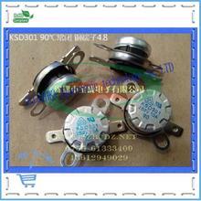 Продажи на медь 250V10A термостат KSD301 90 c нормально закрытый ног 4.8 КСД температуры выключатели