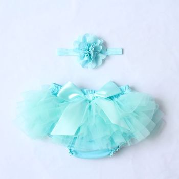 Baby Cotton Chiffon Ruffle Bloomers cute Baby Diaper Cover Newborn Flower Shorts Toddler fashion Summer Clothing 1