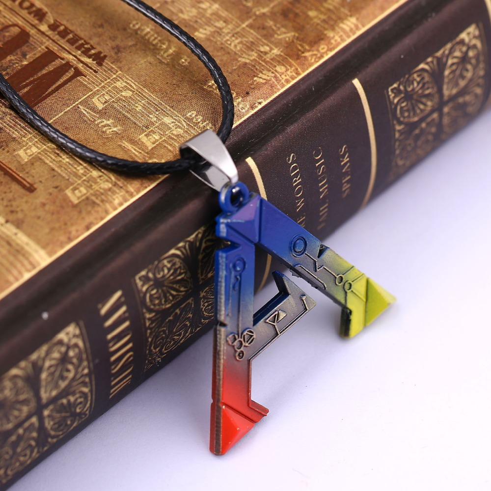 Ark Survival Evolved Necklace Game Logo Fashion Jewelry Survival Evolved Mens Women Colorful Letter Pendant Necklaces