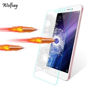 Image 1 - 2PCS Glas Für Xiaomi Redmi 4A Screen Protector Gehärtetem Glas Für Xiaomi Redmi 4A Glas Telefon Film Für Xiaomi redmi 4A 5A 6A <