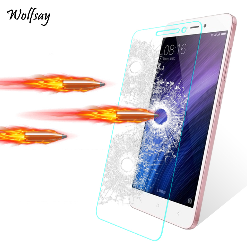 2PCS Glass For Xiaomi Redmi 4A Screen Protector Tempered Glass For Xiaomi Redmi 4A Glass Phone Film For Xiaomi Redmi 4A 5A 6A <-in Phone Screen Protectors from Cellphones & Telecommunications