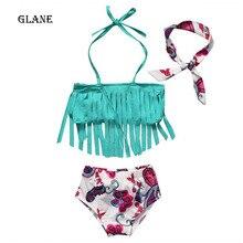 1-4years baby swimwear girls swimwear baby kids biquini infantil swimsuit bikini girl 2017 New summer bathing suit