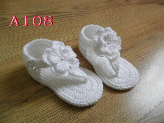 Online-Shop Baby Sandalen Häkelmuster Fersenriemen, 60 pairs ...
