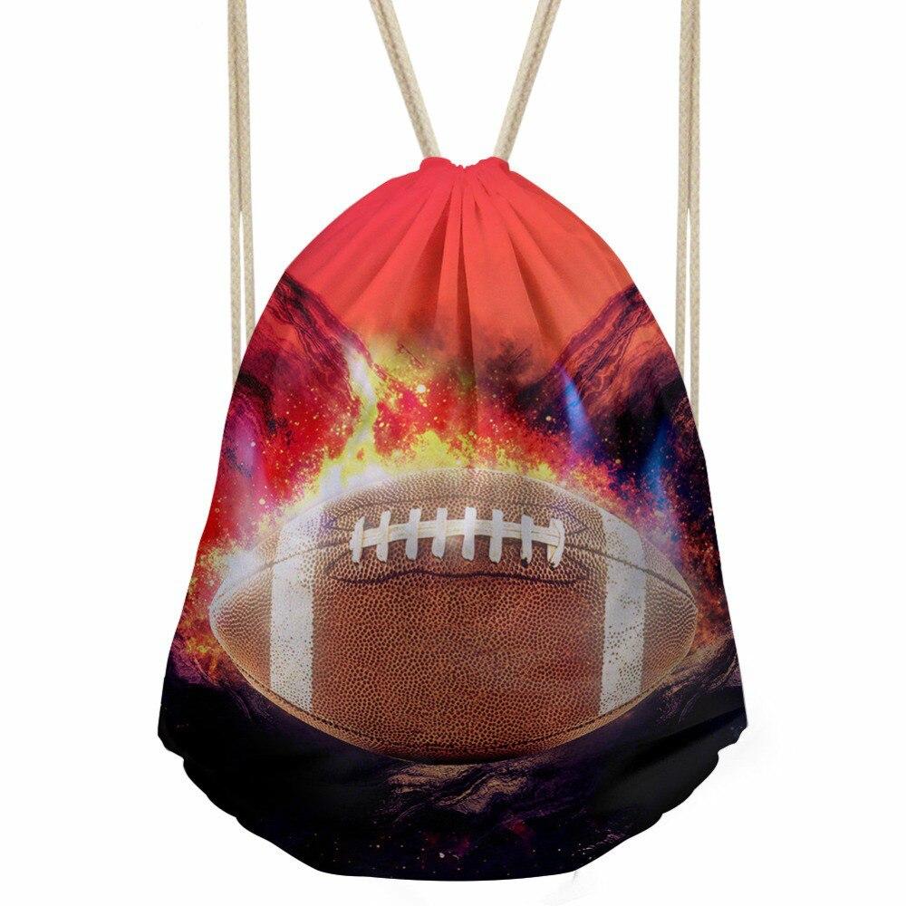 ThiKin Ball Printing Kids School Bag Miraculous Ladybug Cat Noir Non Woven Drawstring Bags for Girls