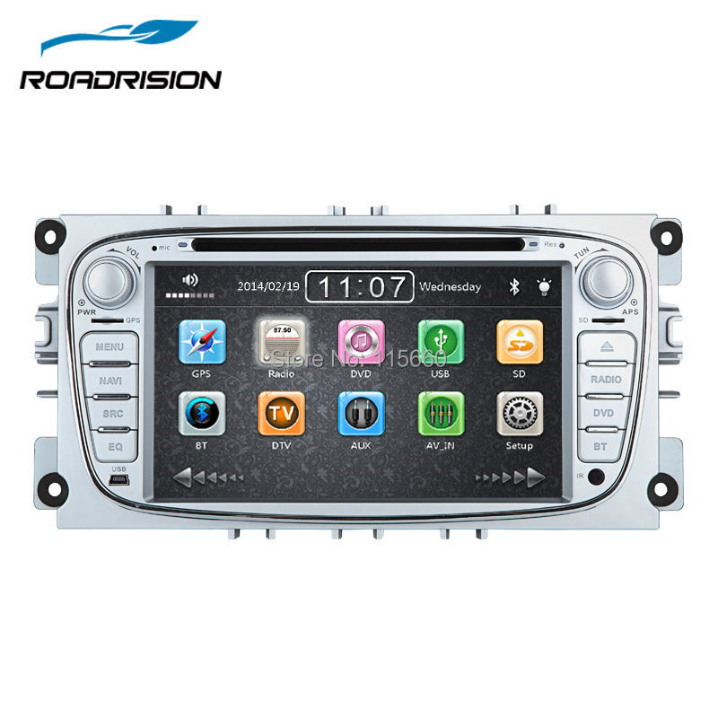 hd 7inch car dvd gps autoradio player multimedia navigation for ford focus ii 2 mondeo s max. Black Bedroom Furniture Sets. Home Design Ideas