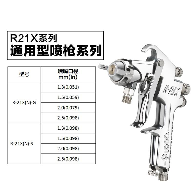 prona painting gun R21-X air spray gun R-21X