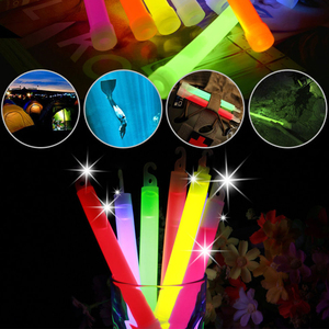 6inch Industrial Grade Glow Sticks Party Camping Emergency Lights Glowstick Chemical Fluorescent Hanging Decoraction(China)