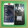 in stock 100% Tested New Original White 5.0 inch Display For Philips i908 LCD Screen+Touch Panel Glass Replacement Assembly