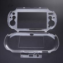 Conception mince 18.5x9x2.2 cm cristal protéger coque de protection rigide coque peau couverture pour Sony PS Vita PSV L3FE