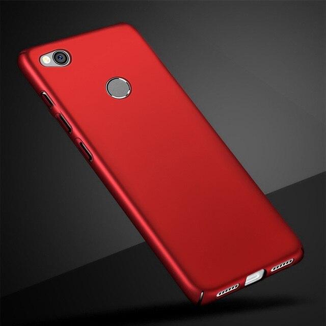 Untuk Xiaomi Redmi 4 X Case Asli Xiaomi 4X Pro 4A Case Xiomi Redmi 4 X Prime Silm PC Hard Cover untuk redmi 4X4 4PRO Kasus 5.0