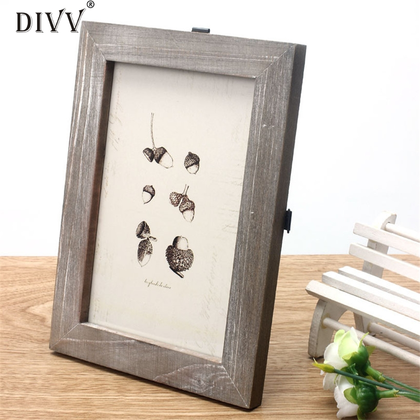 Buy cheap lovely pet vintage photo frame home decor wooden for Where can i find cheap home decor