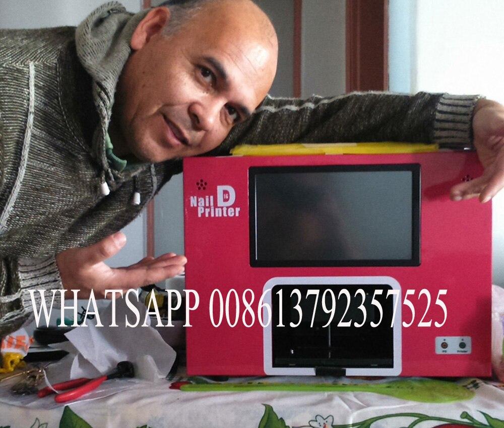 Freies verschiffen digitale nageldrucker maschine mit bildschirm und ...