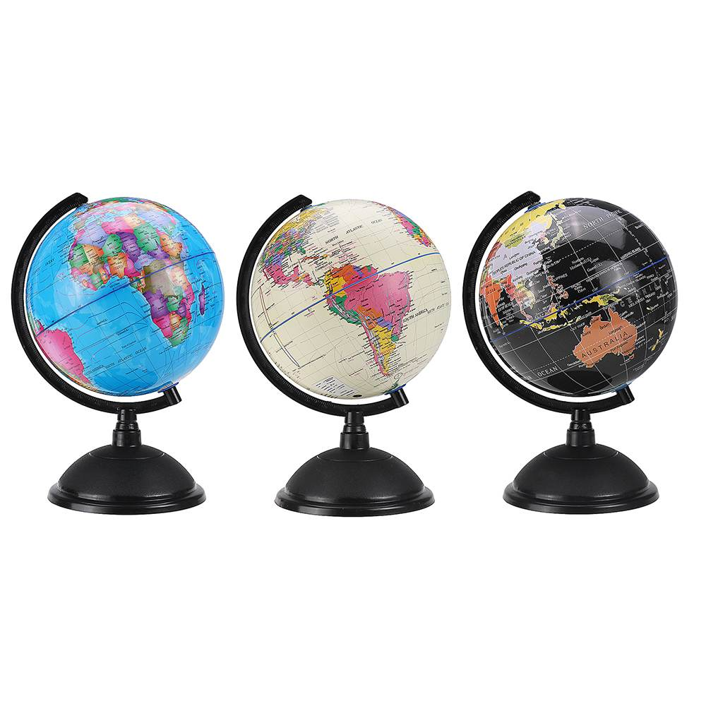 Ocean World Globe Map With Stand Geography Educational Toy Enhance Knowledge Of Earth And Geography Kids Gift Office 20cm