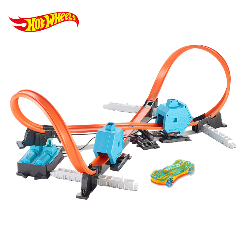 Hot Wheels Roundabout Track Toys Model Cars Classic Toy Car Birthday Gift For Children Pista Hotwheels Juguetes DGD30