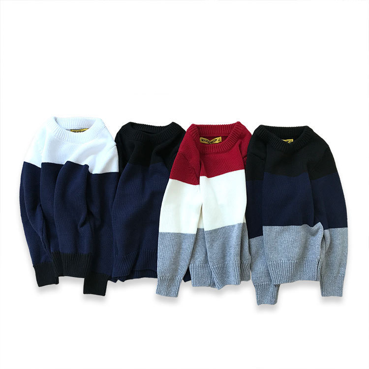 Boys Sweaters Girls Clothing 2017 Autumn Winter Clothes Pullover Children Sweaters Long Sleeve Outerwear O-neck Kids Knitwear