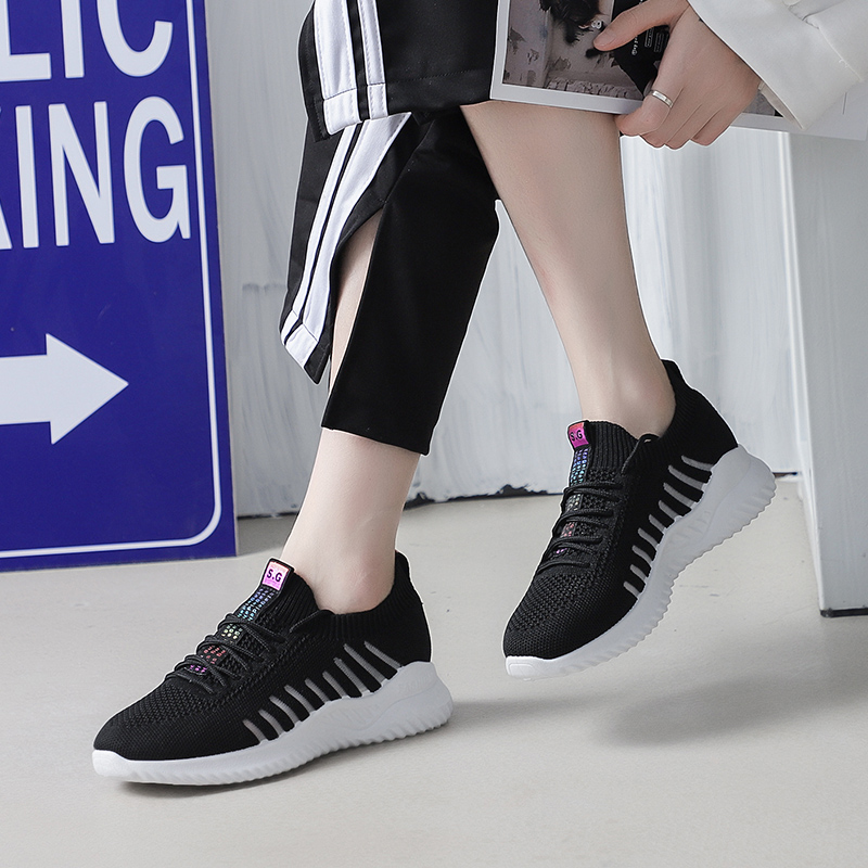 Leader Show Athletic Shoes For Woman Solf Light Outdoor Women Sneakers Brand New Zapatillas Mujer 2019 Trend Sneaker For Woman 5