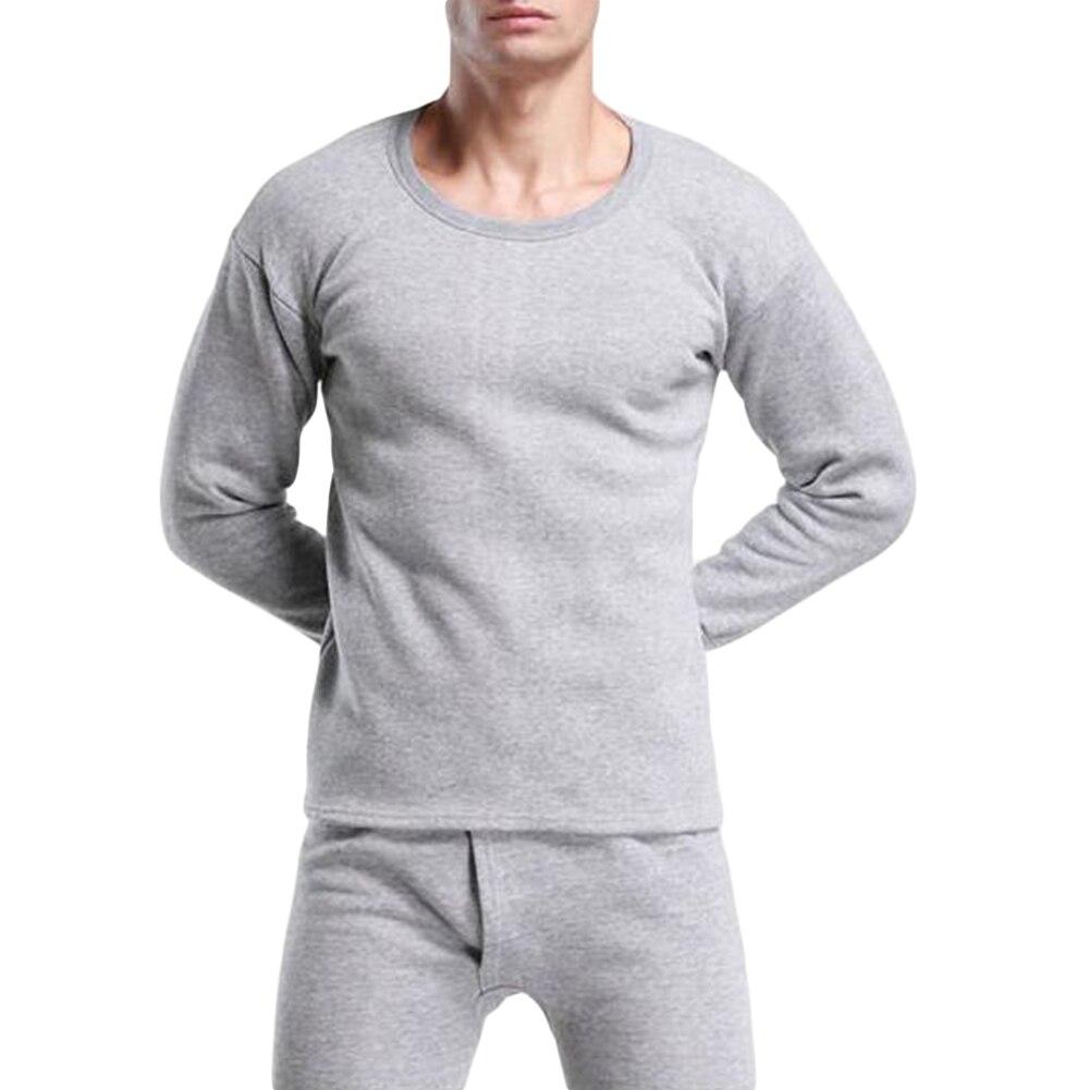 Men's Long Johns Winter Thermal Underwear Sets Men Ultra Soft Camiseta Termica Hombre Top T Shirt Long Pants Warm Termo Clothing