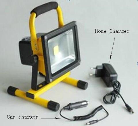 50 w led projecteur rechargeable clairage p riode 8 for Eclairage exterieur led rechargeable