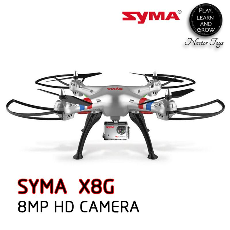 SYMA X8G Profissional font b Drone b font with 8MP HD Camera FPV RC Quadcopter 6