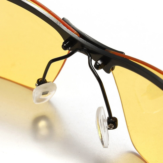 High-end night vision driving glasses polarized glasses light weight uv400 protection driving glasses outdoor windproof glasses