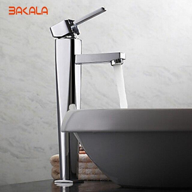 BAKALA modern faucet design washbasin bathroom tap single lever