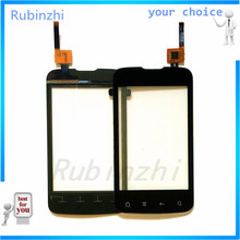 цена на RUBINZHI Phone Touch Screen Sensor Glass For Fly IQ238 Touch screen and Touch panel Digitizer Replacement