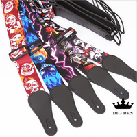 Freight free good quality guitar straps sold on wholesale with 10units electric guitar bass strap firm.jpg 200x200