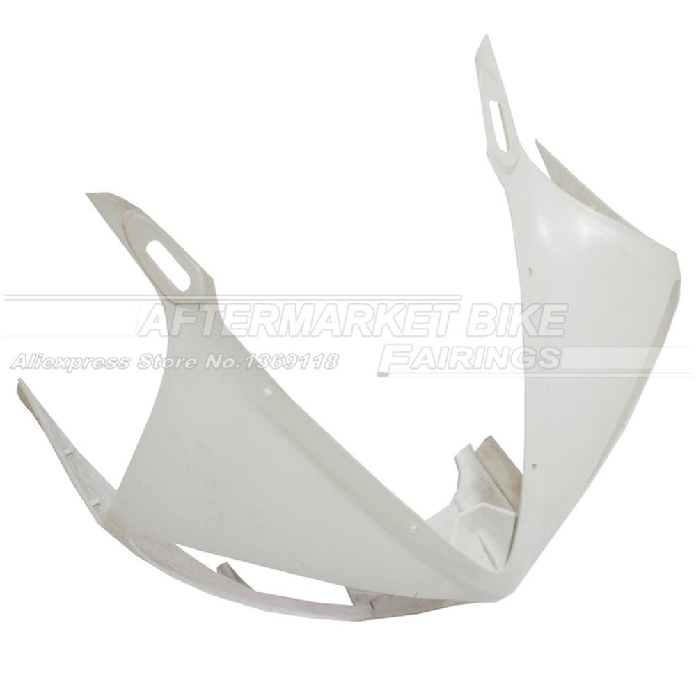 100% Virgin ABS Plastic Front Fairing Head For Yamaha YZF R6 2003 2004 2005 03 04 05 Upper Fairing Nose Cowling NEW 1 6 scale figure accessories doll female head for 12 action figure doll head shape fit phicne