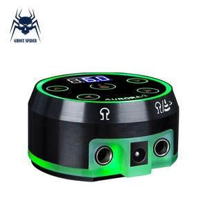 Image 1 - オーロラ 2 タトゥー電源アップグレードデジタル液晶新ミニ led タッチパッド電源タトゥーロータリーマシンペン