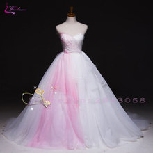 Waulizane Simple Ball Gown Wedding Dresses Sleeveless