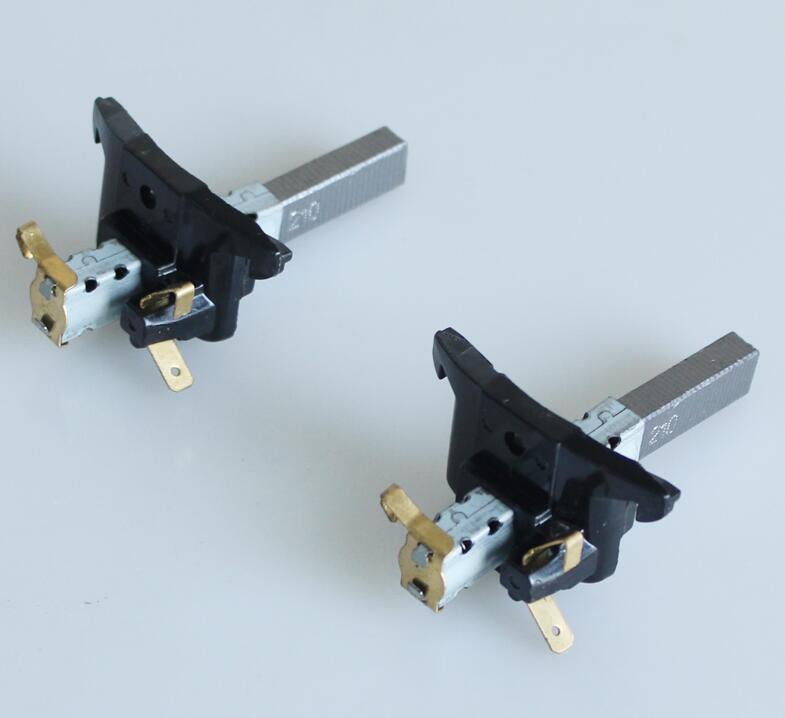 Vacuum Cleaner Parts Carbon Brush 6.4x10x28mm For Motors