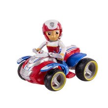 Paw Patrol Dog Ryder Captain Motorcycle Kids Toys Patrulla Canina Action Figure Model Children Fun Gifts цена и фото