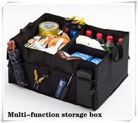 Car Multi Pocket Organizer Large Capacity Folding Storage Box FOR toyota opel astra h j audi a4 b6 A3 citroen c4 c5 mazda 3 6