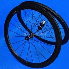 FLYXII абсолютно полностью углеродный глянцевый клинчер клинчерный обод колеса комплект колес для шоссейного велосипеда 60 Велосипедное колесо шириной? мм 25 мм ширина