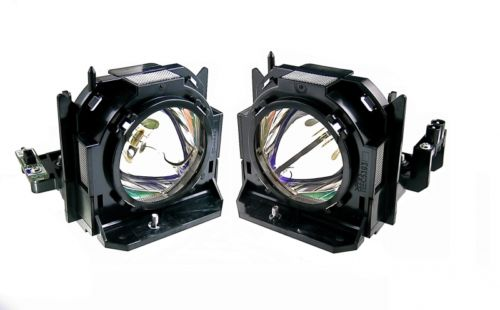 цены  ET-LAD60W Original lamp with housing for PANASONIC PT-D5000/D5000ES/D6000/D6000ELK/D6000ULS/D6710/DW530/DW6300/DW640/DW730  2pcs