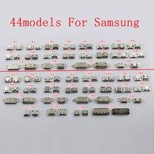 88 sztuk Micro USB łącznik do Samsunga Galaxy S7562 I8262D NOTE3 NOTE4 S5 S6 I9300. .. telefon komórkowy ładowania port USB gniazdo typu jack.