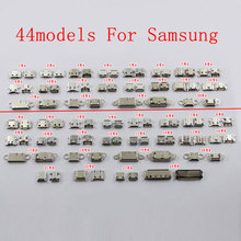 88pcs Micro USB Connector For Samsung Galaxy S7562 I8262D NOTE3 NOTE4 S5 S6 I9300... mobile phone Charging port USB Jack Socket.