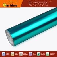 Metallic chrome vinyl wrap film vehicle sticker for car-styling DIY color change.