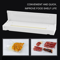 Food Vacuum Sealer Save Home Portable Reseal Keep Food Moistureproof Speed Sealing Machine For Food Plastic