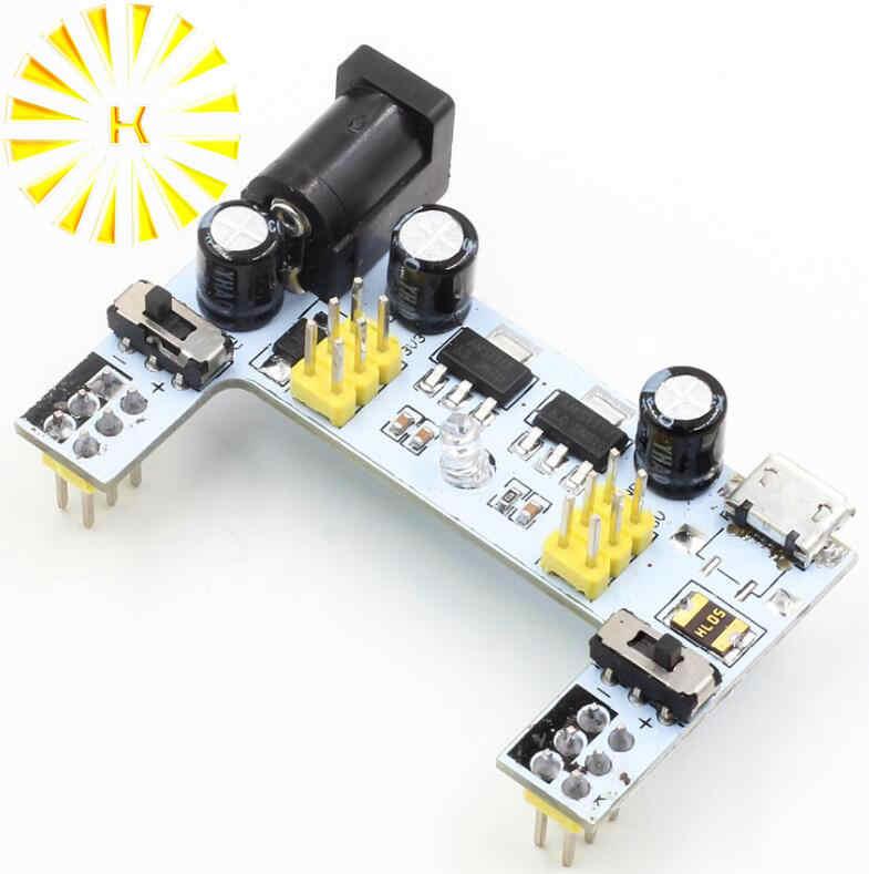 MB102 DC 7-12 V Micro USB Interface Breadboard Power Supply โมดูล MB-102 โมดูล 2 ช่อง Board