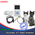 USA Stock, 2-5 days delivery, Veterinary Contec CMS60D Pulse Oximeter for Amimals Pets Vet Use with USB Software
