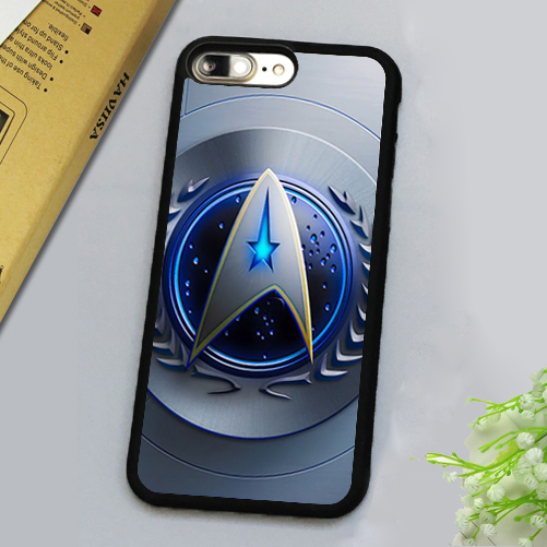 Amazing Comic Star Trek Printed Luxury Mobile Phone Cases For iPhone 7 7 Plus 4.7 5.5 inch Soft Rubber Skin Back Cover Shell
