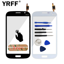 New For Samsung i9082 For Samsung Galaxy 9082 Grand Duos GT-I9082 Touch Screen Panel Digitizer Front Glass Replacement Logo