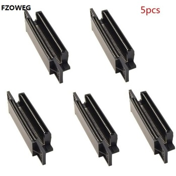 FZQWEG 5pcs 72 Pin Connector Adapter Cartridge Slot Replacement for 8-bit Nintendo NES System for Nintendo Entertainment System