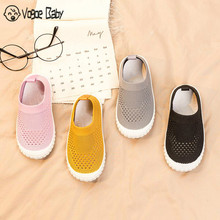 2019 Spring Infant Toddler Shoes Girls Boys Casual Mesh Shoes Soft Bottom Comfortable Non-slip Kid Baby First Walkers Shoes 4829(China)