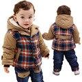 Anlencool jovem casaco de inverno Europeu e Americano terno moda inverno das crianças das crianças do bebê meninos conjunto de roupas de bebê roupas de inverno