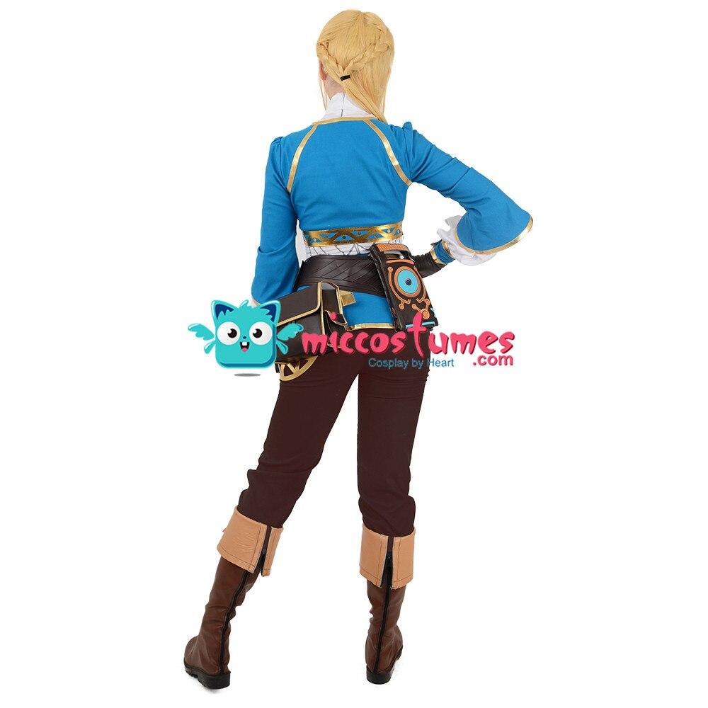 Zelda Botw Cosplay De Legend Of Zelda Adem Van De Wilde Prinses Zelda Cosplay Kostuum - 5