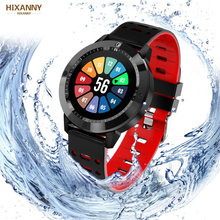 Smart watch IP67 waterproof Tempered glass Activity Fitness tracker Heart rate monitor Sports Men women smartwatch