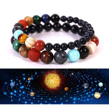 9 Planets Natural Stone Planets  Beads  Bracelet Bangles Couples Bracelets  For Women or Men 2019 Creative Fashion Jewelry Gifts the planets page 9